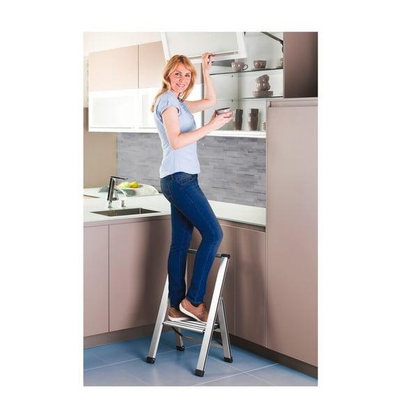 Skladacie schodíky Wenko Ladder, 76 cm