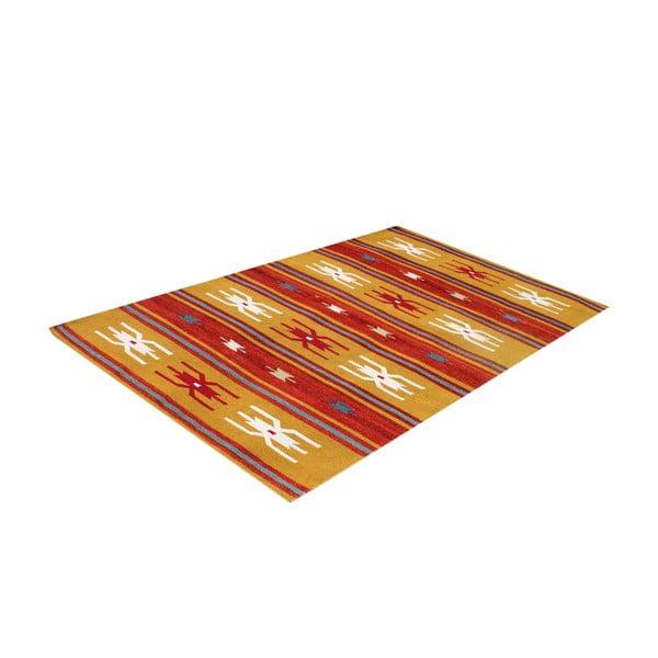 Vlnený koberec Kilim No. 207, 120x180 cm