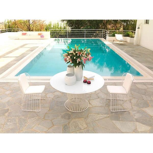 Záhradná stolička Sedia White