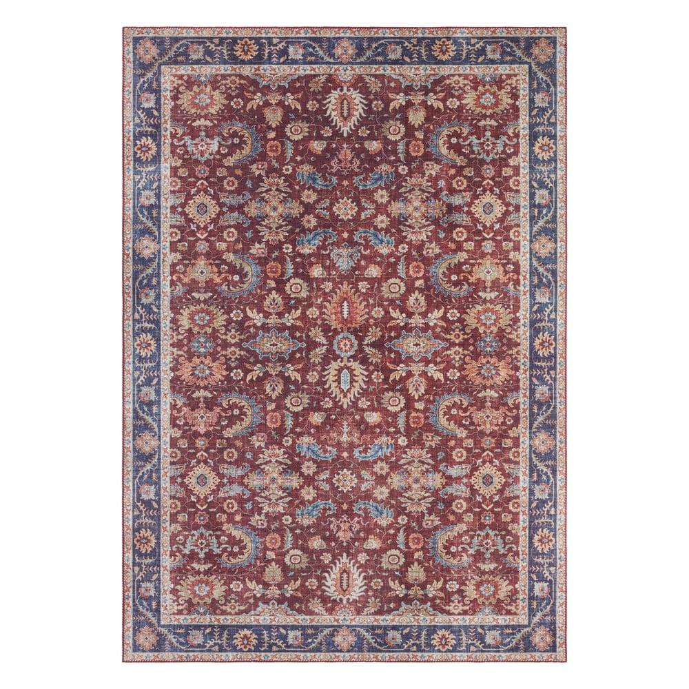 Vínovočervený koberec Nouristan Vivana, 120 x 160 cm