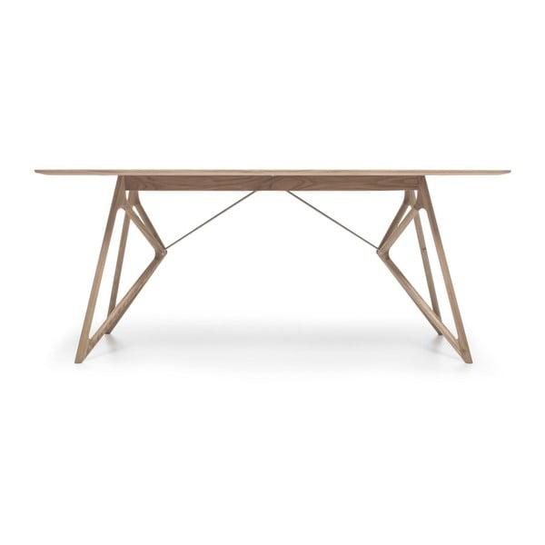 Dubový jedálenský stôl Tink Oak Gazzda, 180cm, svetlý prírodný