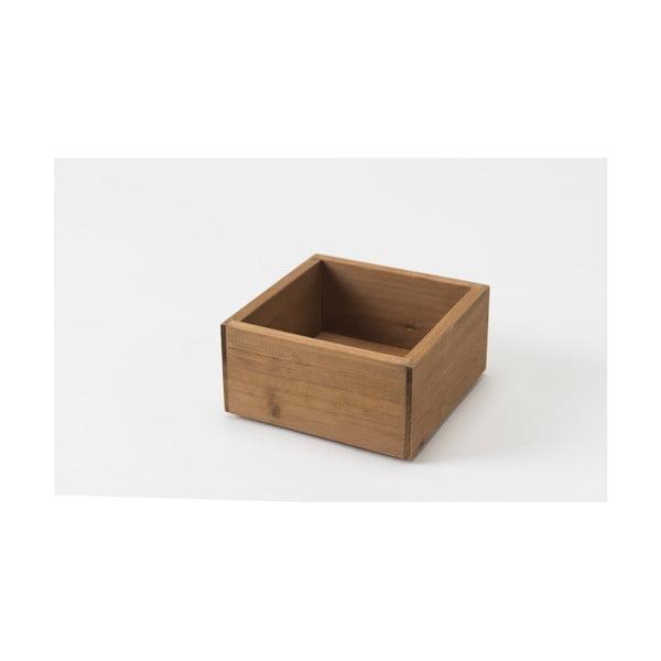 Úložný box z jedľového dreva Compactor Vintage Box, šírka 14 cm