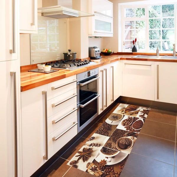 Vysokoodolný kuchynský behúň Floorita Break, 60×220cm