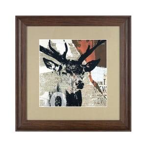 Obraz Deer Head, 50x50 cm