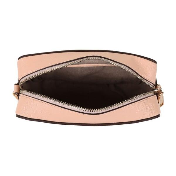 Púdrovoružová kabelka z eko kože Beverly Hills Polo Club Tina