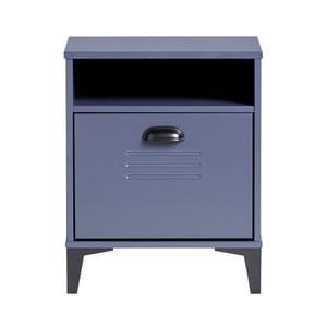 Modrý nočný stolík Marckeric Zack