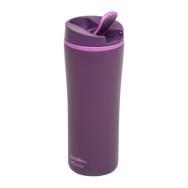 Fialový termohrnček Aladdin eCycle Flip-Seal ™, 350ml