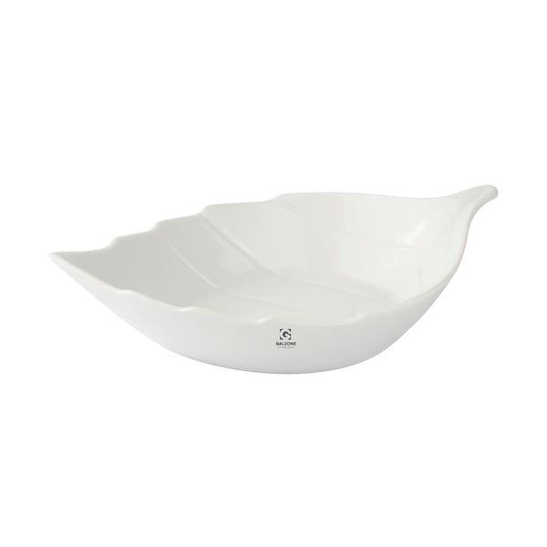 Porcelánová servírovacia miska KJ Collection Leaf, 300 ml