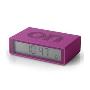 Preklápací budík Flip, fialový