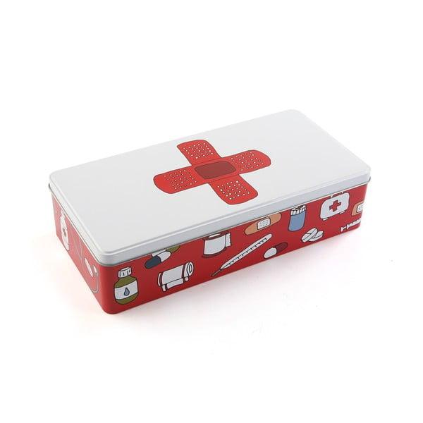 Dlhšia kovová krabica/lekárnička Versa First Aid