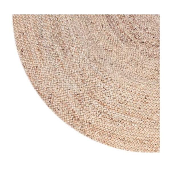 Kruhový koberec z juty LABEL51, ⌀ 150 cm