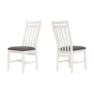 Biela stolička Canett Skagen
