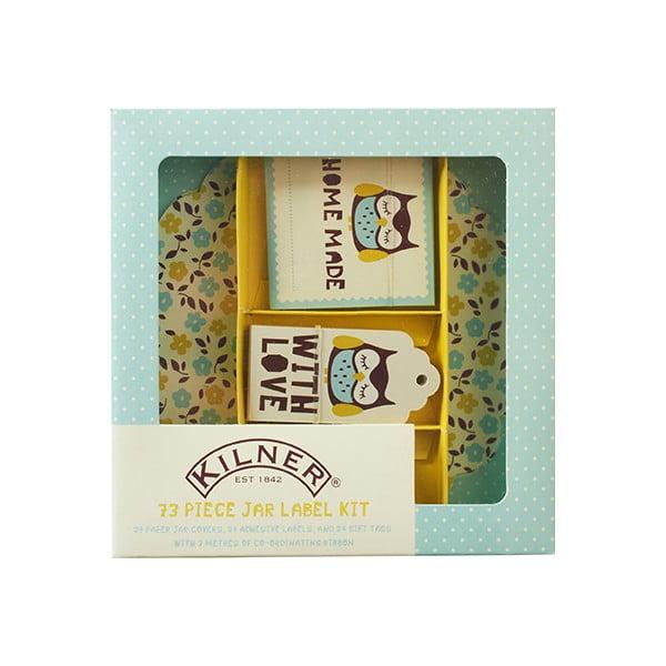 73 darčekových štítkov Kilner I