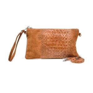 Kožená listová kabelka Marie, ťavia
