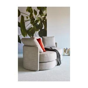 Sivá rozkladacia pohovka Innovation Villum Linen Ash Grey