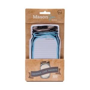 Poznámkový bloček Thinking gifts Mason Jar