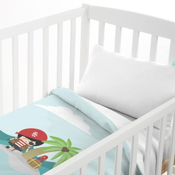 Detské obliečky z čistej bavlny Happynois Pirata, 100×120 cm