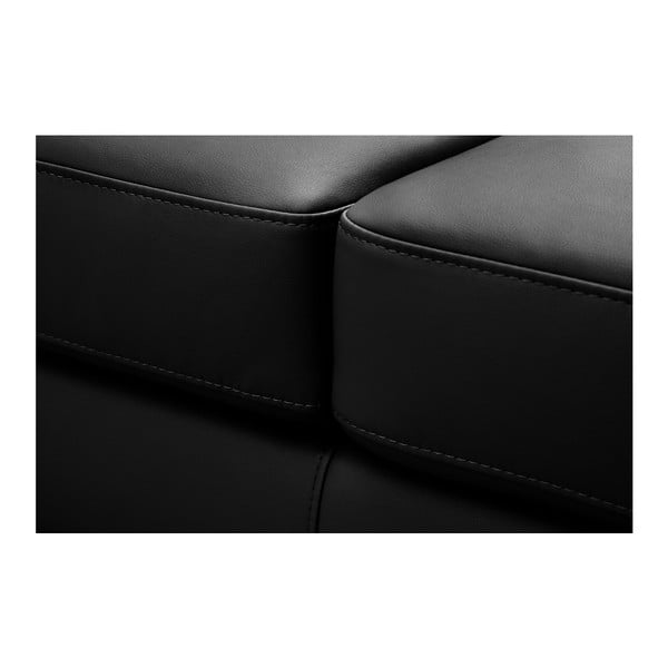 Čierna pohovka Modernist Parure