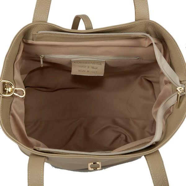 Kožená kabelka Andrea Cardone 2009 Taupe