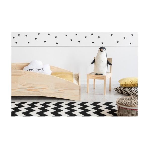 Detská posteľ z borovicového dreva Adeko BOX 6, 80×200 cm