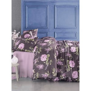 Obliečky s plachtou Serenay Purple, 200x220 cm