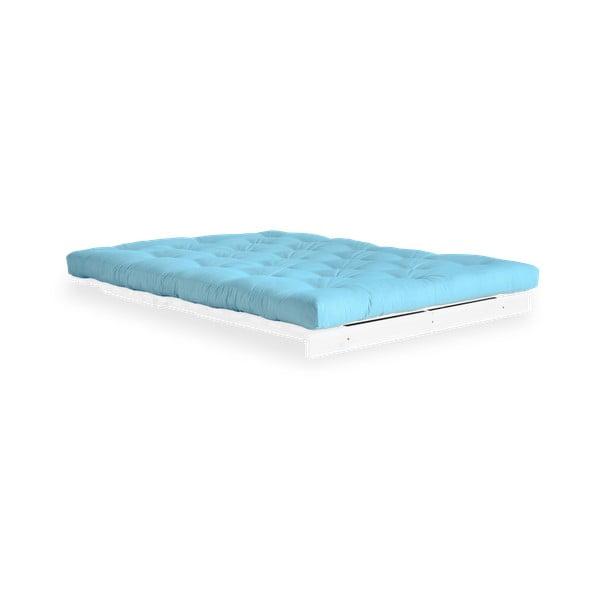 Variabilná pohovka Karup Design Roots White/Light Blue