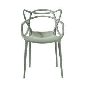 Zelená stolička Kartell Masters