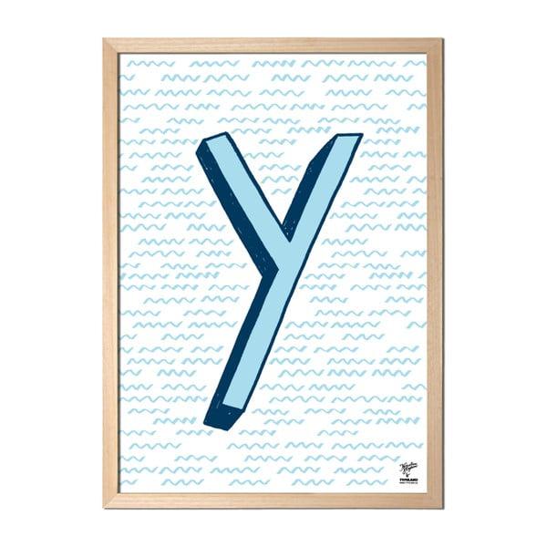 Plagát Y od Karolíny Strykovej