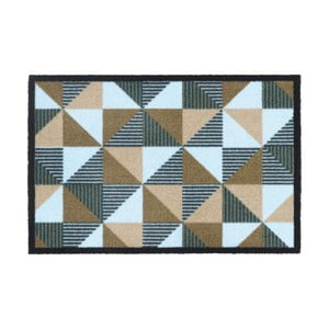 Rohožka Hamat Geometric Beige, 50 x 75 cm