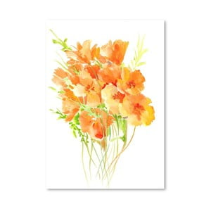 Plagát Poppies from California od Suren Nersisyan