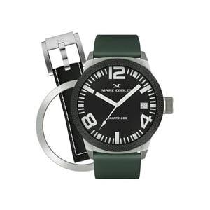 Pánske hodinky Marc Coblen s remienkom a ozdobou ciferníku naviac P14