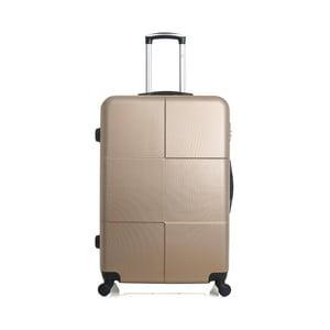 Cestovní kufor v zlatej farbe na kolieskach Hero Coronado, 91l
