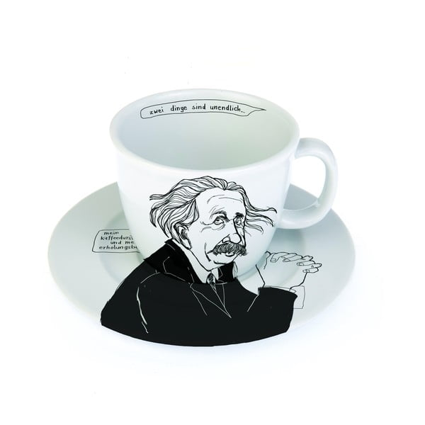 Hrnček a tanierik Albert Deutsch, matematik