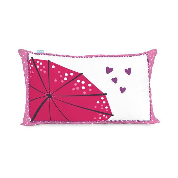 Bavlnená obojstranná obliečka na vankúš Moshi Moshi Cherry Blossom