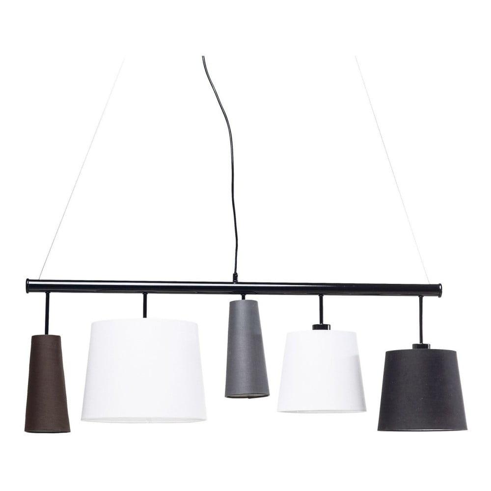 Čierne stropné svietidlo Kare Design Parecchi