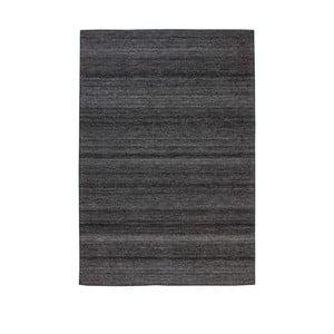 Antracitove sivý koberec Kayoom Viviana, 120 x 170 cm