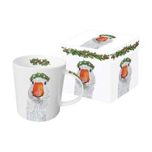 Porcelánový hrnček s vianočným motívom v darčekovom balení PPD Glacier Goose, 350 ml
