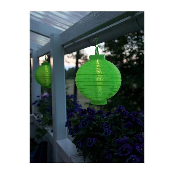 LED lampión Summer, zelený