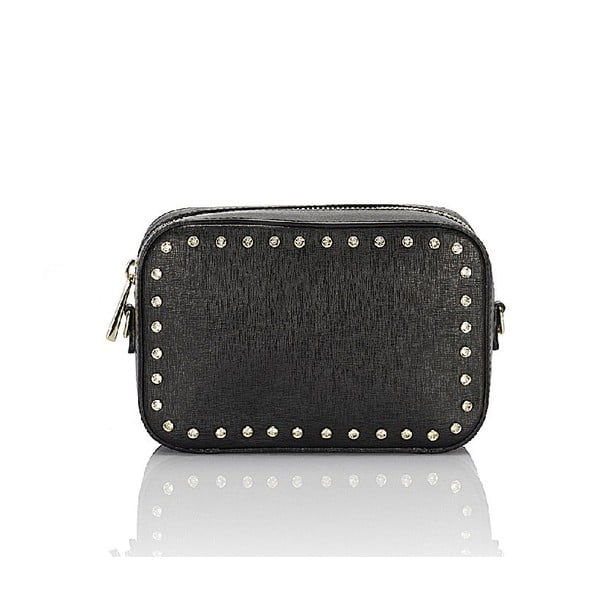 Kožená kabelka Giorgio Costa 15010 Black