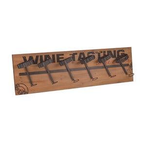 Nástenný vešiak InArt Wine, 100 x 30 cm