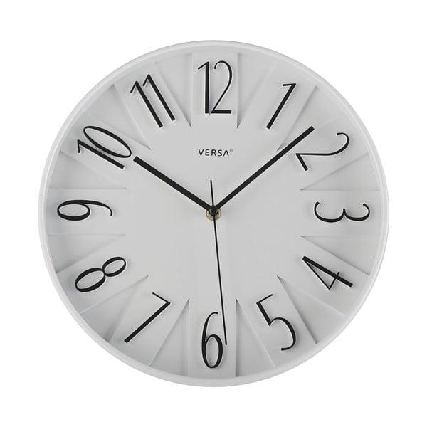 Nástenné hodiny Reloj Blanco, 30 cm