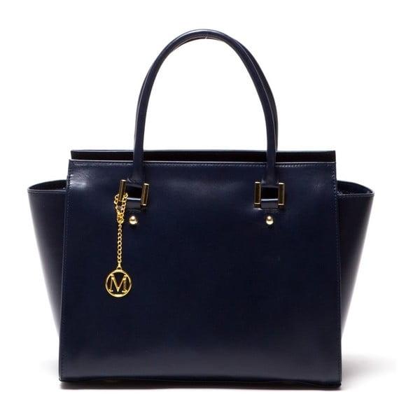 Kožená kabelka Italia 382 Blu