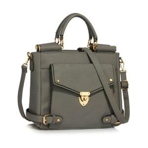 Sivá kabelka L & S Bags Flap Grab