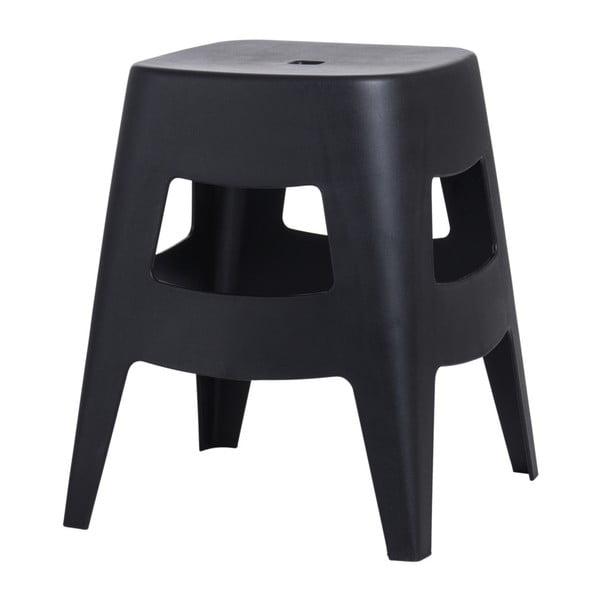 Stolička D2 Tower, čierna