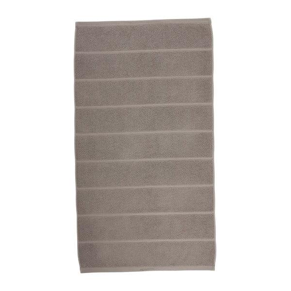 Sivohnedý uterák Aquanova Adagio, 70 x 130 cm