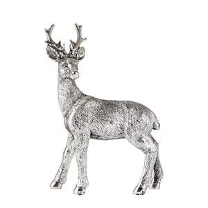 Dekoratívna soška v tvare jeleňa KJ Collection, 12,5 cm