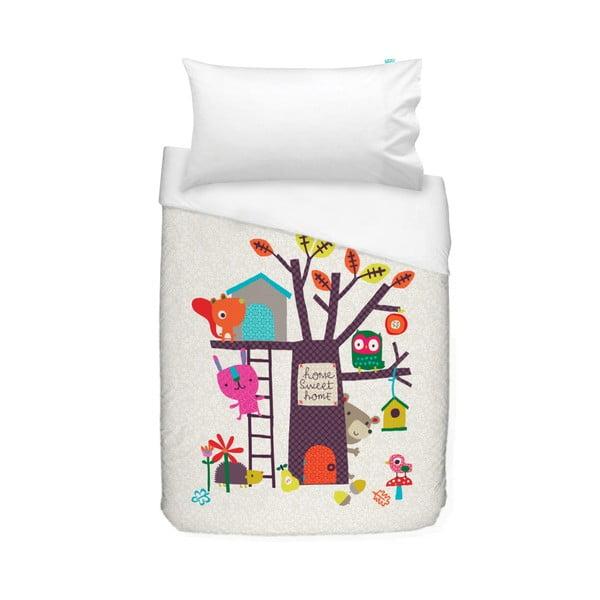 Detské bavlnené obliečky Baleno Sweet Home, 100×120 cm