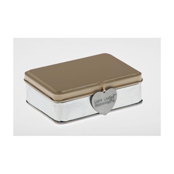 Krabička Metallo Beige