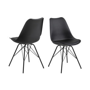 Čierna jedálenská stolička Actona Eris