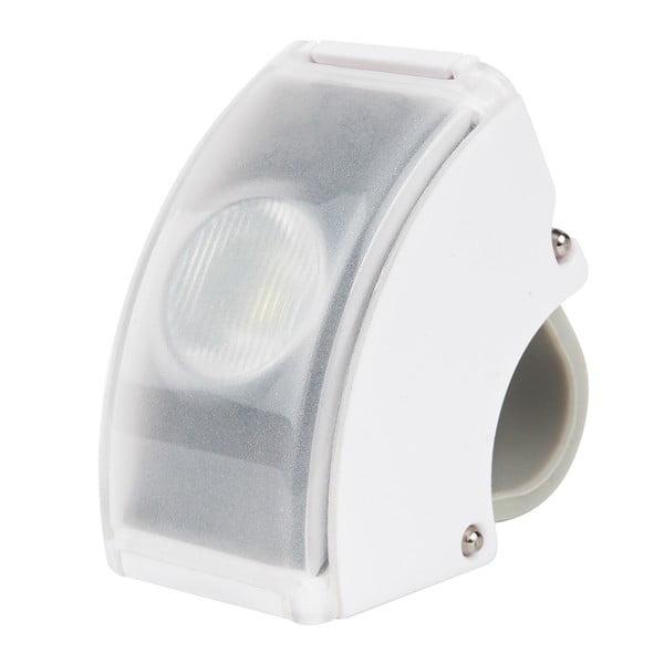 Biele USB predné svetlo Bookman